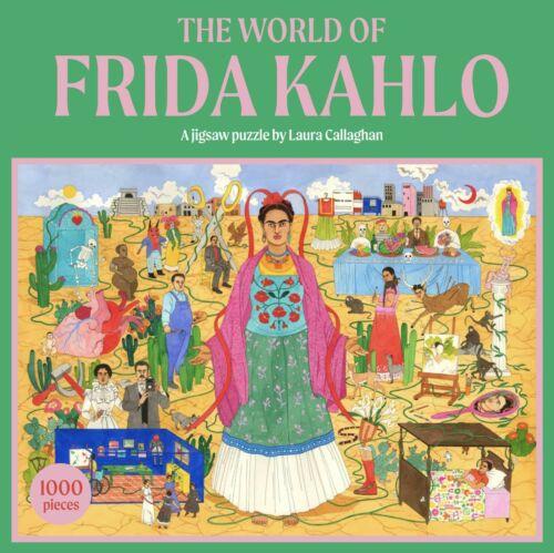 Laurence King le monde de Frida Kahlo 1000 Piece Jigsaw Puzzle NOUVEAU