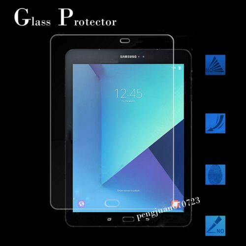 """9H Tempered Glass Protector For 9.7/"""" Samsung Galaxy Tab S3 SM-T820//T825 Tablet"""