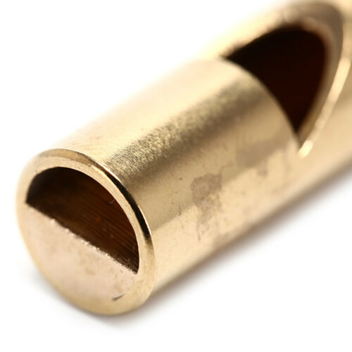 1 stück 10mm messing EDC Notfall Sicherheit Überleben Whistle Keychain Für YR