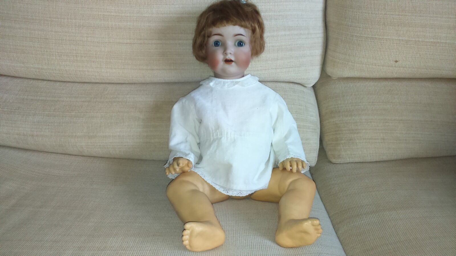 Simon Halbig 1294 German Doll carton stone Ancient Classic Vintage Collection