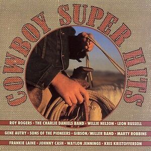 Cowboy-Super-Hits-Various-Artists-Cassette-New-Sony-Music-Roy-Rogers-G-Autry
