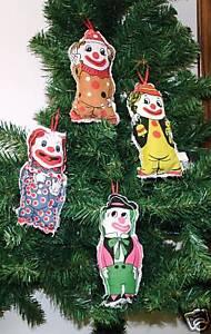 Clown Children/'s Circus Christmas Ornament
