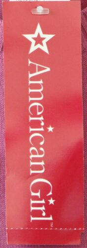 NEW $32.00 AMERICAN GIRL Mauve SCHOOL SWEATER Cotton TOP w.LOGO Sz L
