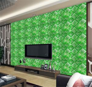 3D Green Box 851 Wallpaper Mural Paper Wall Print Wallpaper Murals UK Carly