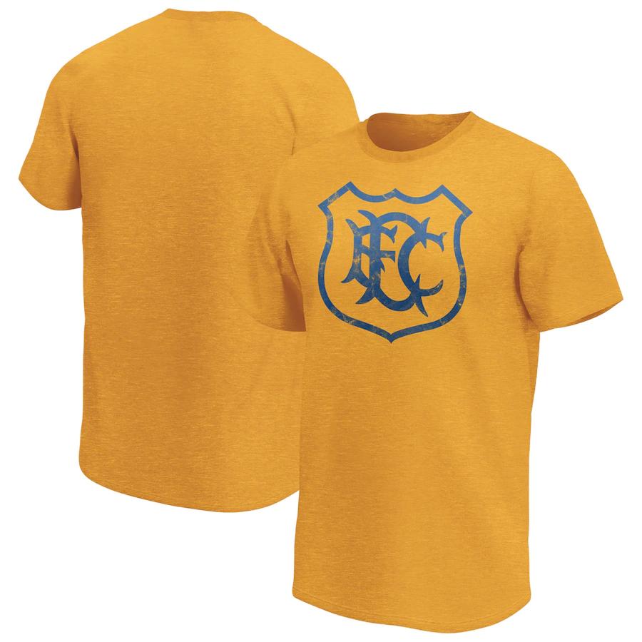 Everton Football T-Shirt Mens Heritage Logo T-Shirt - New