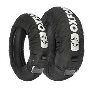 Oxford-Motorcycle-Motorbike-Track-Race-Tyre-Warmers-LCD-Display-3-Stage-UK-Pair