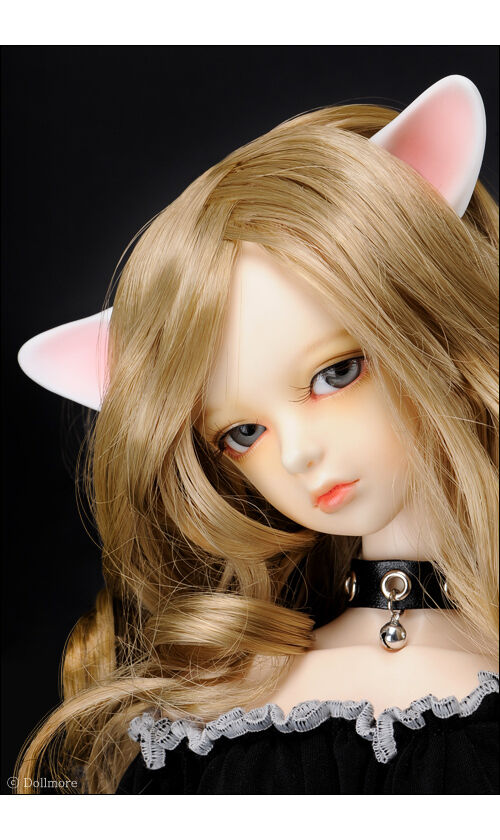 1/3 SD 70cm  Dollmore BJD  Dollmore  Part - Cute kitty Ears(Normal Skin)(M, Weiß blushed) 976916