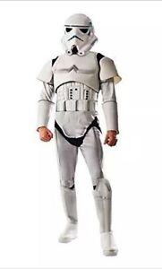 STORMTROOPER DELUXE ADULT COSTUME Men Star Wars Cosplay Fancy Dress 810695 NEW