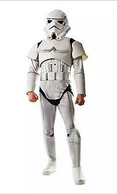 stormtrooper costume gloves with loop pad sewn on the back to attach armour