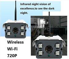 720P Outdoor HD IR Night Vision IP WIFI Wi-Fi Wireless CCTV Camera Waterproof