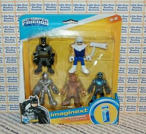 Imaginext-DC-SUPER-FRIENDS-Figure-5-Pack-Batman-Cyborg-Blue-Beetle-Scarecrow