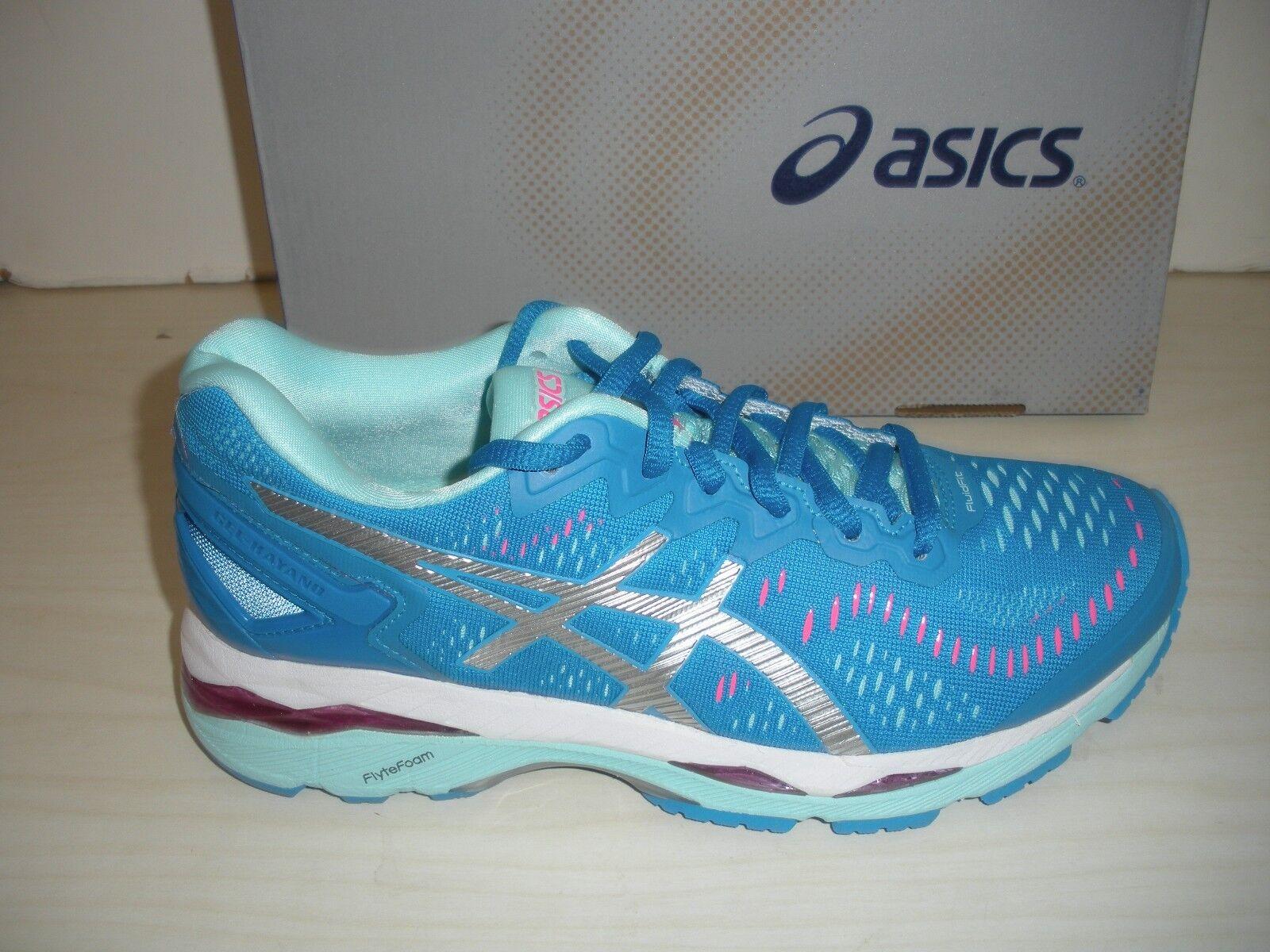 ASICS donna GEL-KAYANO 23 RUNNING scarpe da ginnastica-scarpe-T696N -4393- DIVA blu- SZ 7