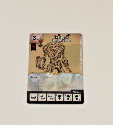 OP Promo Prize Card D/&D Dice Masters Battle for FAERUN SKELETON