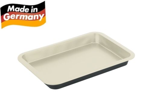 Fisko Keramik Backform #861441 Auflaufform Kuchenform schwarz Blechkuchenform