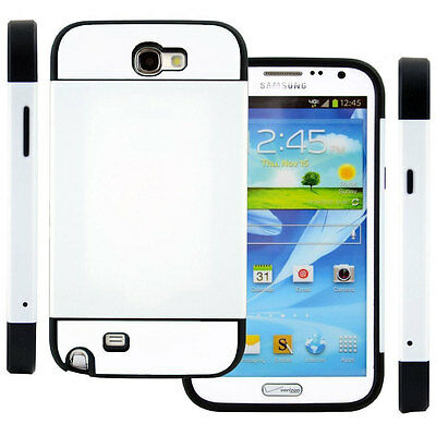 New Heavy Duty Hybrid Impact Armor Case Cover For Samsung Galaxy Note 2 II N7100