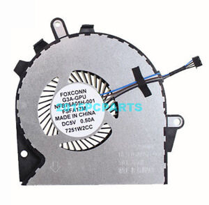 Details about Original New for HP OMEN 15-CE 17-AN G3A-GPU Cooling Fan  929456-001
