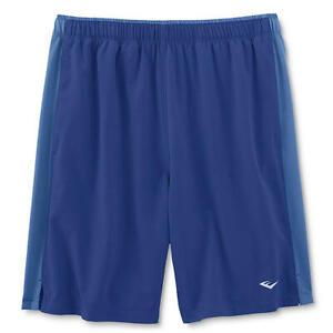 NEW-Men-039-s-Everlast-Shorts-GYM-Running-Sport-Workout-Size-L-MSRP-36-R20-Blue
