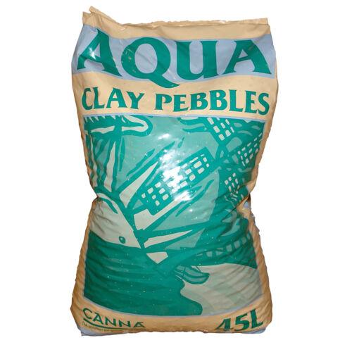 CANNA AQUA CLAY PEBBLES 45L GROWING MEDIA HYDROPONICS