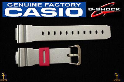 CASIO DW-6900CB-8 G-Shock Original 16mm Grey (Glossy) Rubber Watch Band Strap