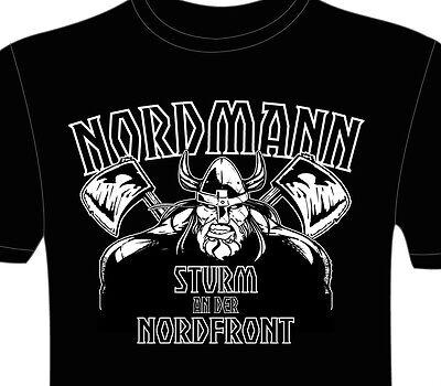 T-shirt - Nordmann, Vikinger, S - 3xl