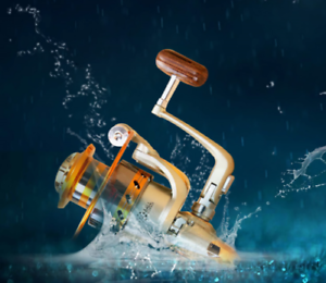US-EF500-EF9000-Spinning-Fishing-Reel-12BB-Metal-Spool-Folding-Arm-Left-Right
