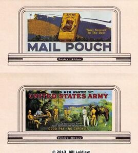 4-billboards-roadside-signs-94-HO-or-OO-scale-inc-MAIL-POUCH-TOBACCO