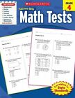Math Tests, Grade 4 by Scholastic US(Paperback / softback)