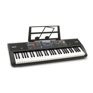 Acheter Pas Cher Plixio 61-key Digital Piano électrique Clavier & Sheet Music Stand Portable-afficher Le Titre D'origine