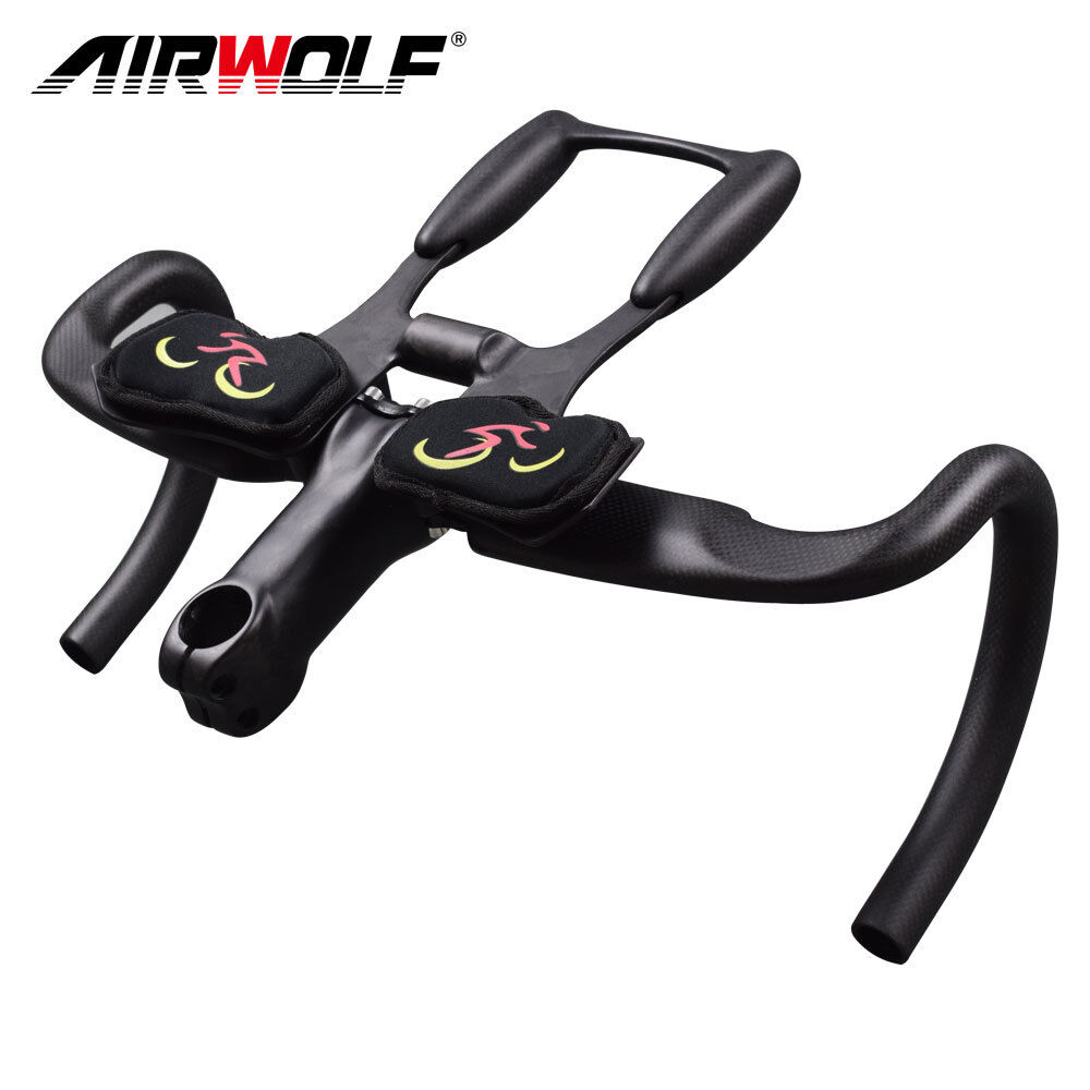Carbon road bike integrated handlebar triathlon cycling bicycle rest TT bar