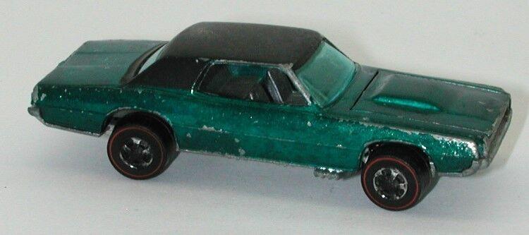 Redline Hotwheels Aqua 1968 Custom T Bird oc12735
