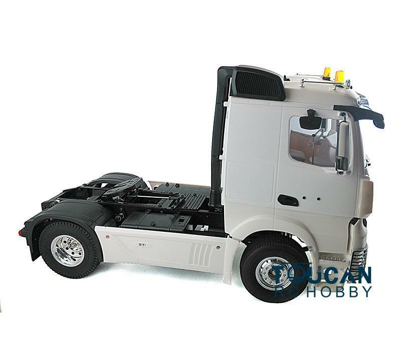 Hercules 1 14 RC biaxial Low Top Cabina Camión Montaje Kit Set 140428 modelo de coche