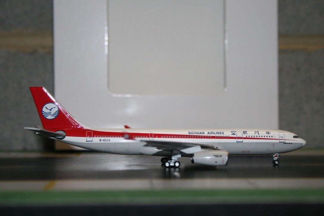 Aeroclassics 1 400 Sichuan Airlines Airbus A330-200 B-6535 (ACB6535) Die-Cast