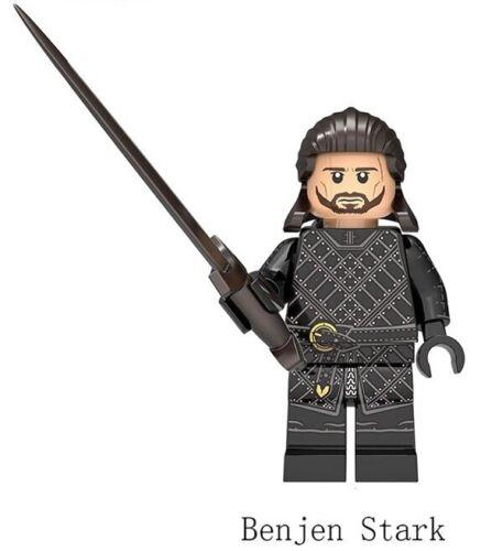 Game Of Thrones Ice And Fire Benjen Stark Jon Snow Wights White Walke Jeor Toys