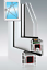 Kunststofffenster Weiß 1 flg Dreh Kipp 2 oder 3 Fach Verglasung AVANTGARDE