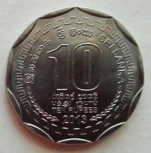 Sri Lanka 2013 10 Rupees coin