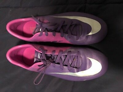 half off f22d0 daa5d Nike Jr Mercurial Victory II FG Purple/Magenta Youth Firm Ground cleats |  eBay