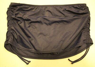Victoria's Secret VS The Skirted Swim Bikini Bottom - Navy Extra Large - NWD