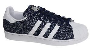 Originals Superstar bleus lacets de sport Chaussures pour S85980 hommes M9 synthétiques à Adidas 6qxdw518q