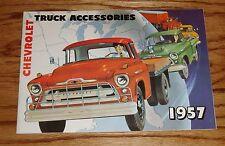 1957 Chevrolet Truck Accessories Sales Brochure 57 Chevy Pickup
