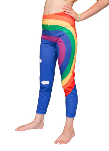 Printed girls rainbow pants FREE DELIVERY