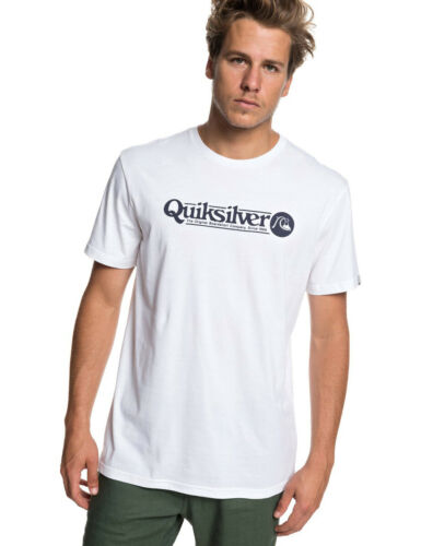 Quiksilver Art Tickle Short Sleeve T-Shirt in White