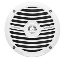 """NEW Pair Rockford Fosgate RM0652 6.5/"""" 2-Way White Marine Boat Speakers Coaxial"""