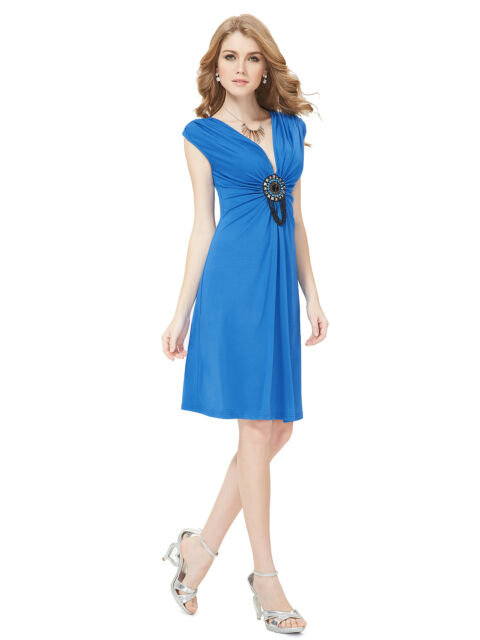Ever-Pretty New Fashion Short  V-neck Cocktail Party Casual Summer Dress 03280