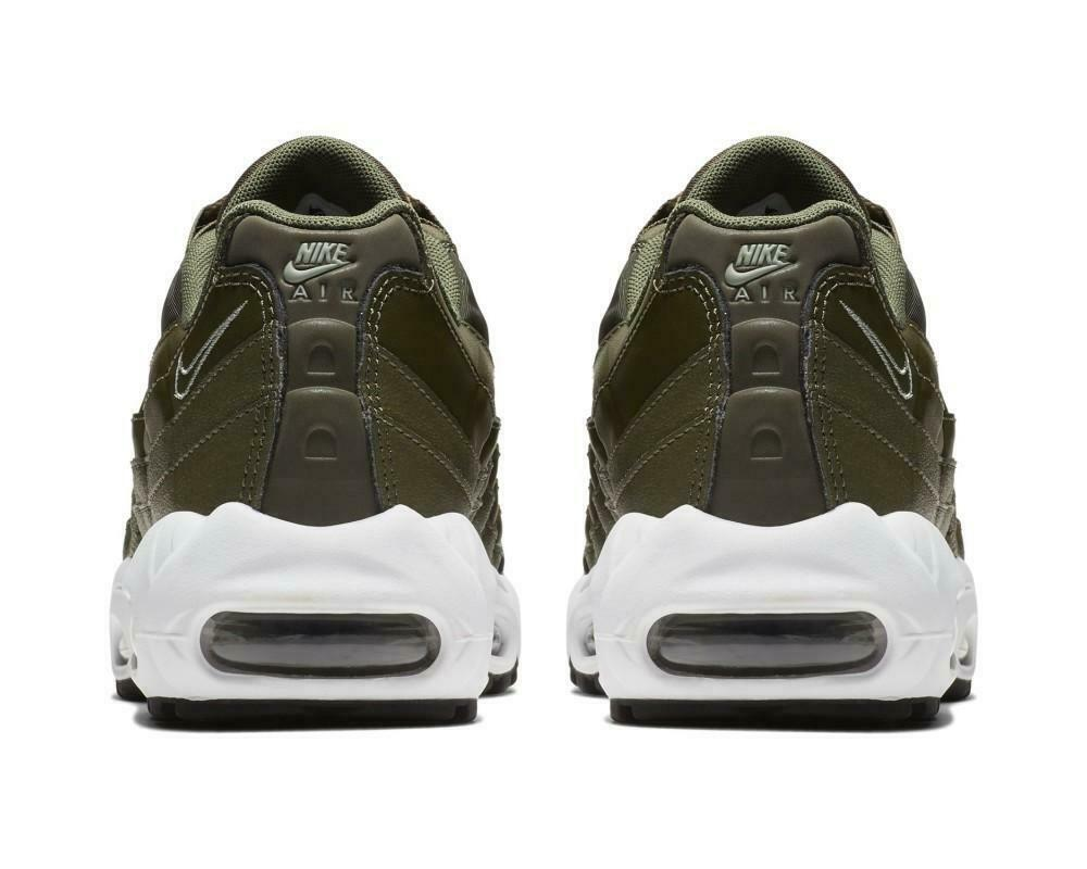 women Air Max 95 Olive Olive Olive Baskets Cuir 307960 304 d6e745
