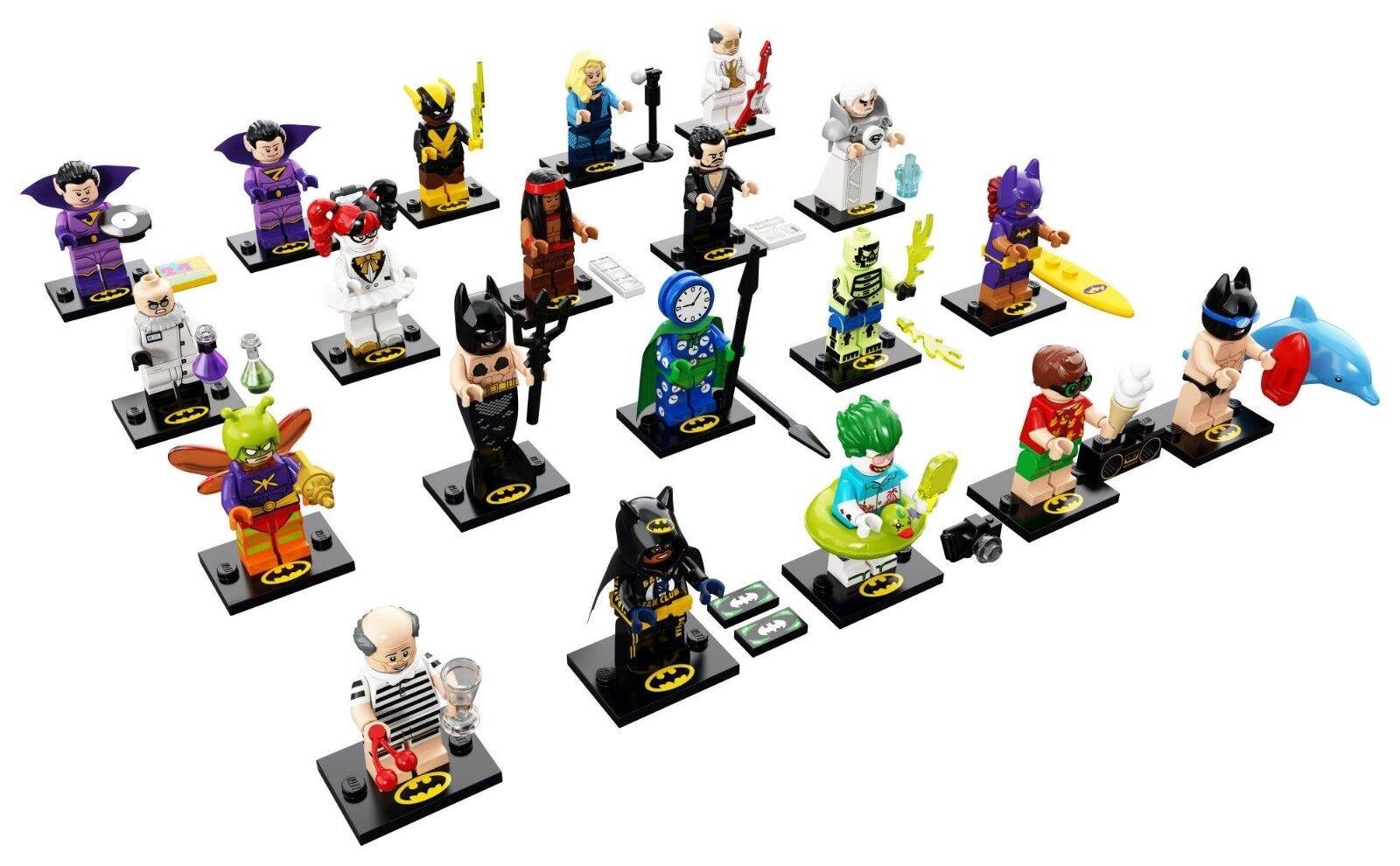 Lego ® Minifig Batman Movie Series 2 - 71020-Tous les 20 personnages