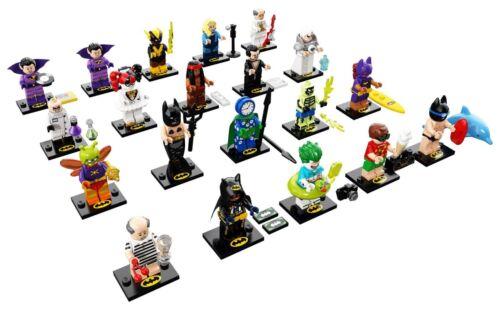 alle 20 Figuren LEGO® Minifig Batman Movie Series 2-71020