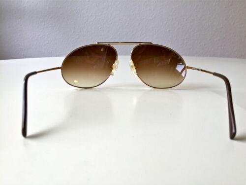 Nos Zollitsch Germania Vintage Rare Cadre Gold Sunglasses Full Rim nPYvwavx