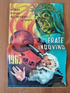 Il Calendario Di Frate Indovino.Dettagli Su Calendario Frate Indovino 1965 Mondo D Oggi All Inferno Di Dante