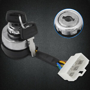 6-fili-Interruttore-a-chiave-Generatore-di-benzina-Per-2-5-6-5KW-188F-Generatore