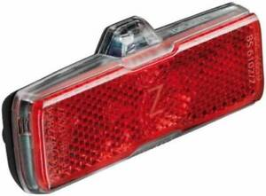 Müller Toplight 2C Bicycle Dynamo Rear Tail Light Red Busch 326ASK-02
